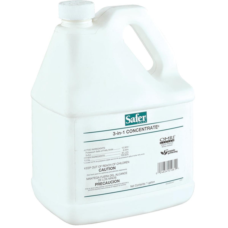 Safer® 3-in-1 Insecticide and Fungicide