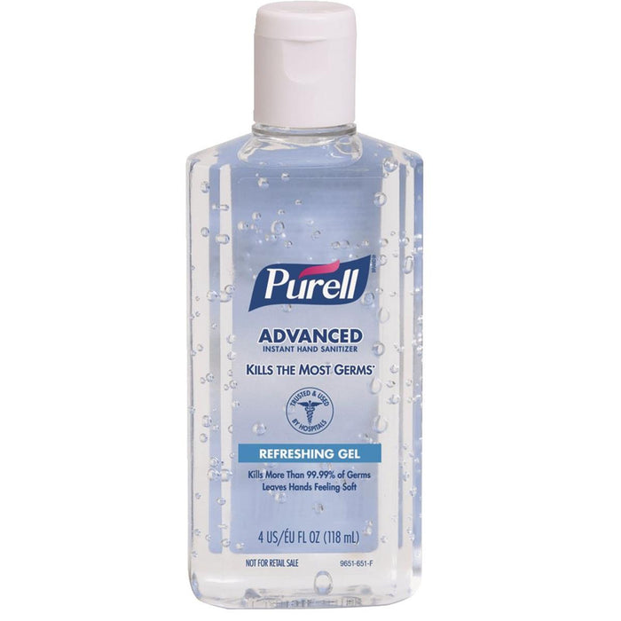 Purell® Instant Hand Sanitizer In 4 oz. Bottle, Pkg. of 24