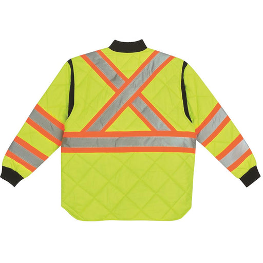 Key Class 3 Hi-Vis Quilted Jacket