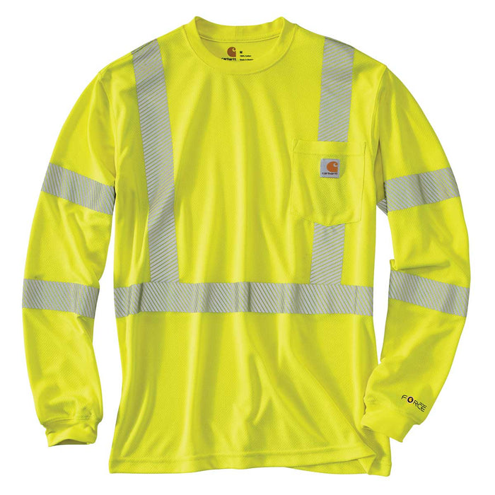 Carhartt ANSI Class 3 Force™ Hi-Vis Long Sleeve T-Shirt