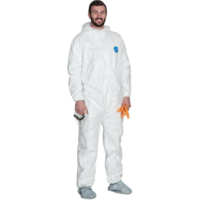 DUPONT Hooded Tyvek® Coveralls with Booties