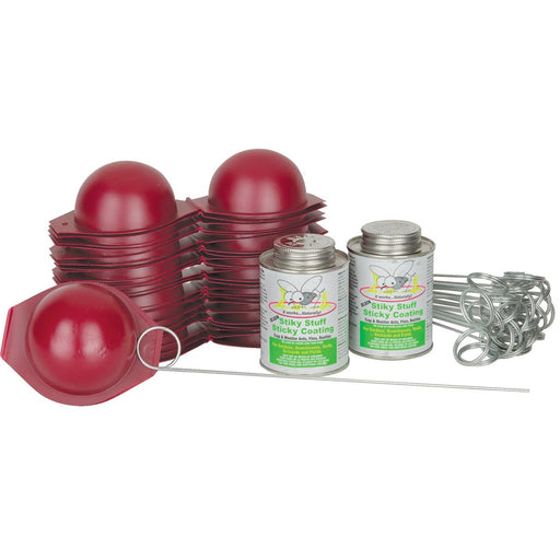 Lightweight Disposable Red Sphere Trap Kit