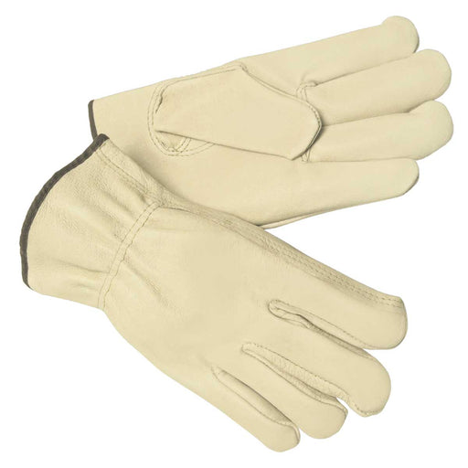 MCR Safety Unlined Pigskin Leather Driver's Gloves