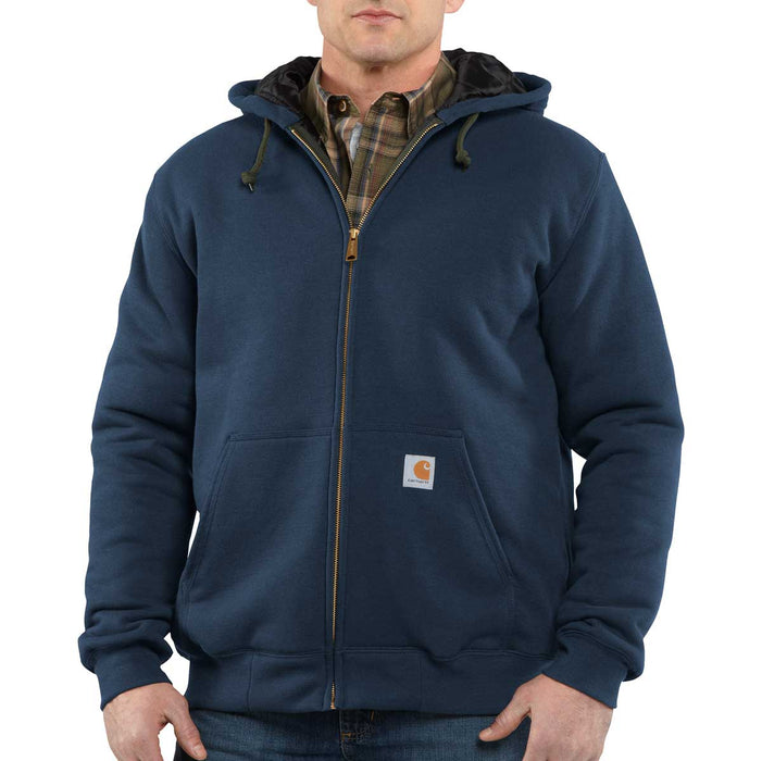 Carhartt Rain Defender® Quilt-Lined, Full-Zip Hooded Sweatshirt