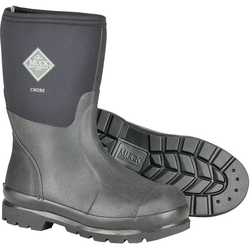 "12""H Plain Toe Chore Boot"
