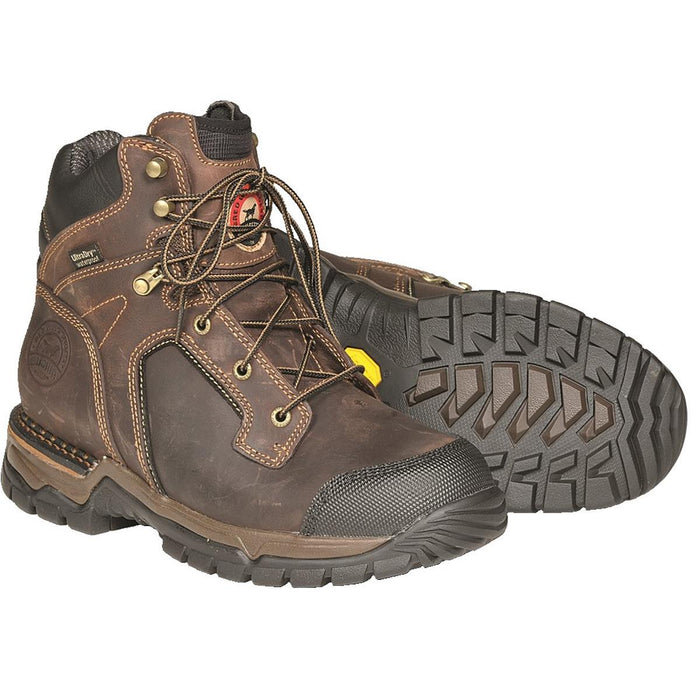 Irish Setter Two Harbors Waterproof Leather Boots, Plain or Steel Toe