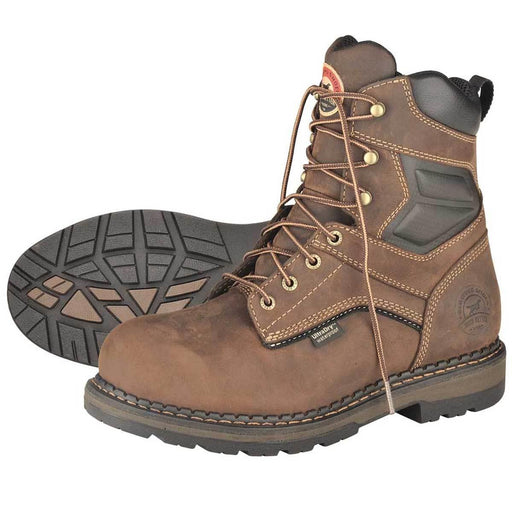 "Irish Setter 8""H Plain Toe Waterproof Work Boots"