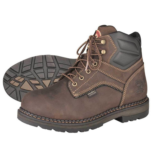 "Irish Setter 6""H Plain Toe Waterproof Work Boots"