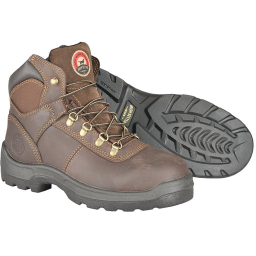 "Irish Setter 6""H Plain Toe Lightweight Work Boots"