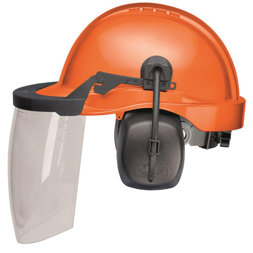 ELVEX ProGuard™ Woodsman's Helmet with Lexan™ Shield