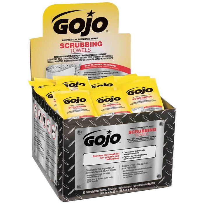 GOJO Packaged Scrubbing Towels