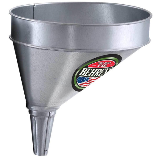 Offset Galvanized Steel Funnel