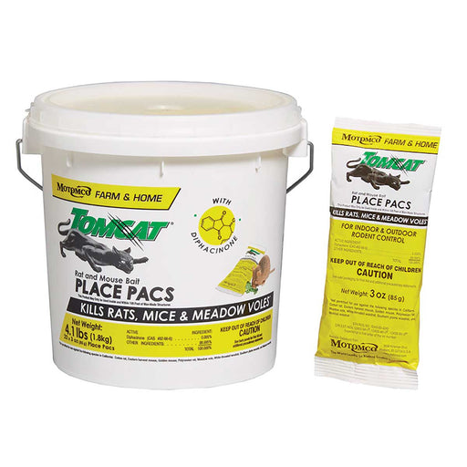 Tomcat Rat and Mouse Bait Place Pacs