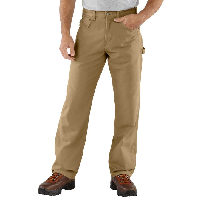 "Carhartt Canvas Carpenter's Jeans - Waist Sizes 30"" to 38"""