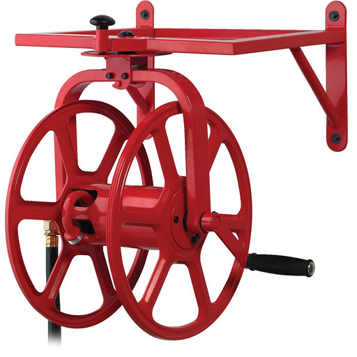 Revolution Wall-Mount Rotating Water Hose Reel