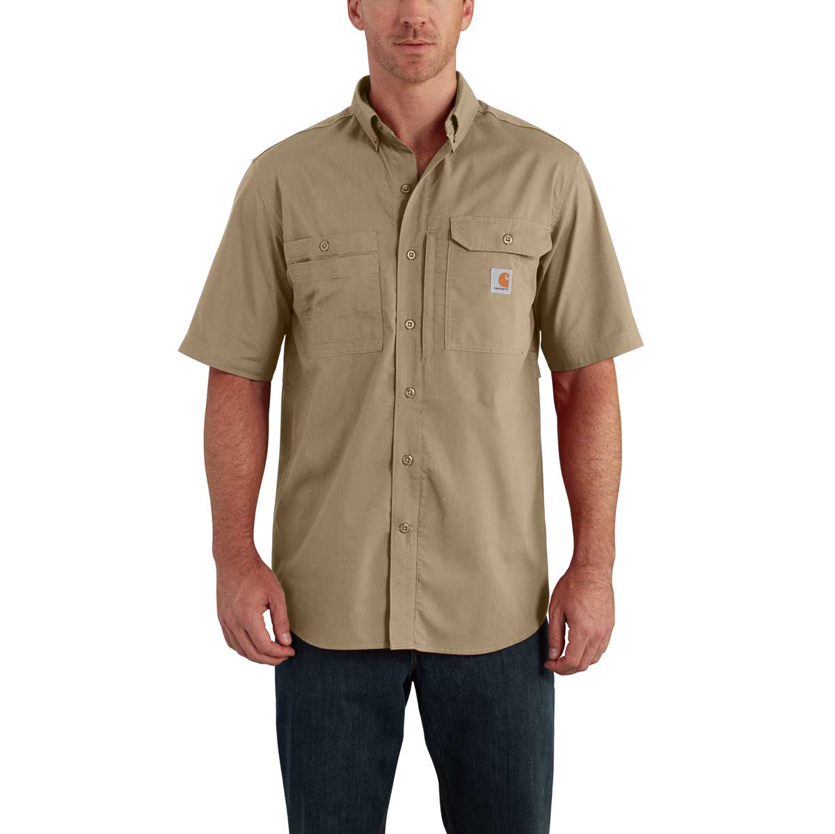 Carhartt Force® 102417 Ridgefield Short-Sleeve Shirt
