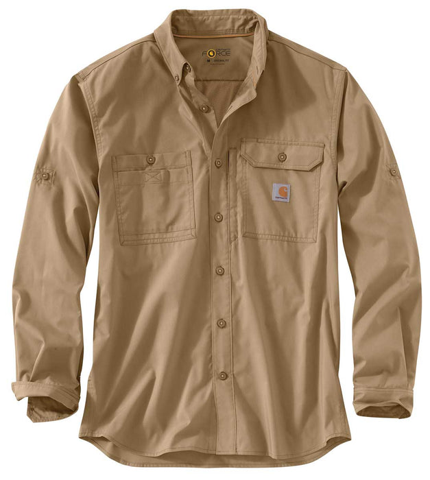 Carhartt Force® Ridgefield Long-Sleeve Shirt, 102418