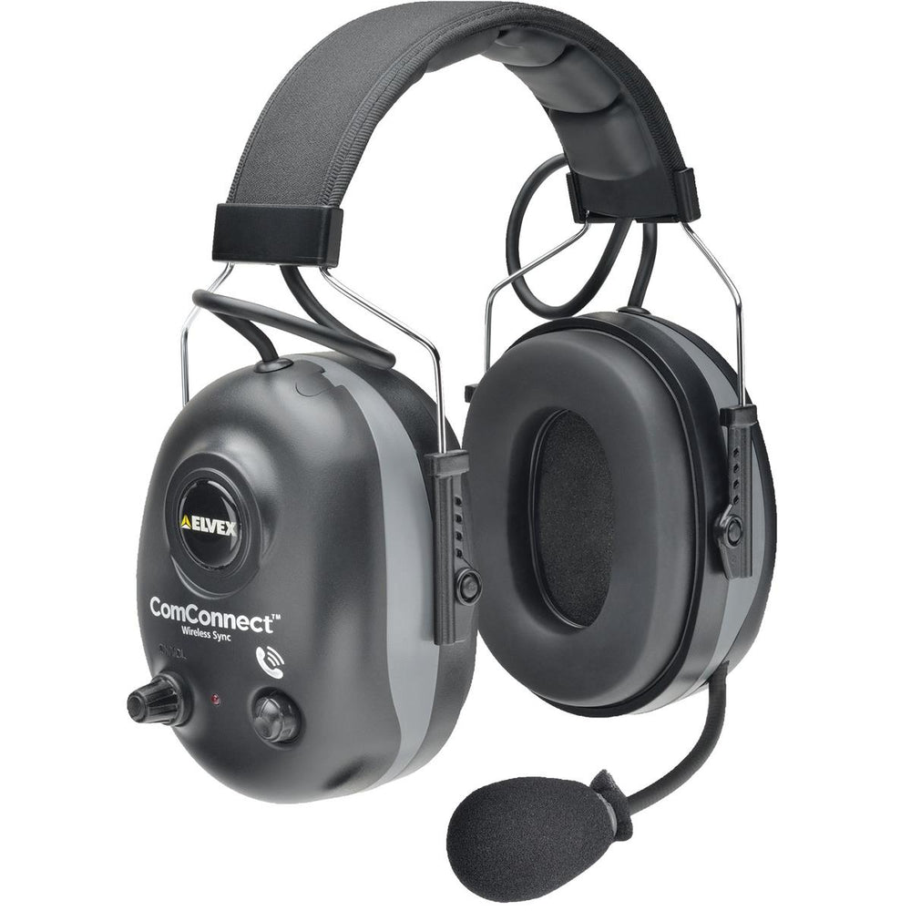 Elvex Wireless Sync Headset Earmuffs