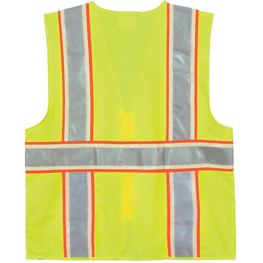 Alpha Workwear Surveyor's Class 2 Hi-Vis Glow-in-the-Dark Safety Vest