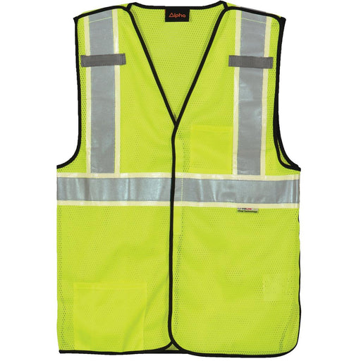 Alpha Workwear Breakaway Class 2 Hi-Vis Safety Vest