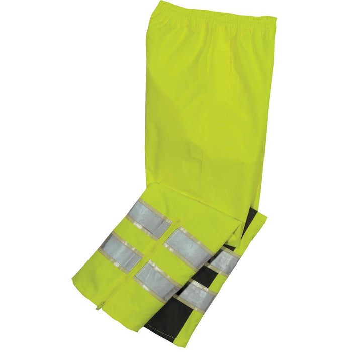 Alpha Workwear ANSI Class E Glow-in-the-Dark Rain Pants