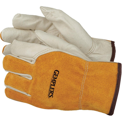 Split Back Pigskin Driver's Gloves