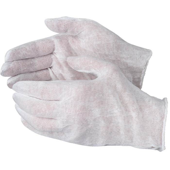 Disposable Cotton Glove Liners, Dozen Pair