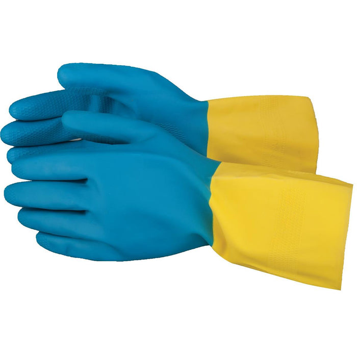 28-mil Neoprene-Dipped Latex Gloves