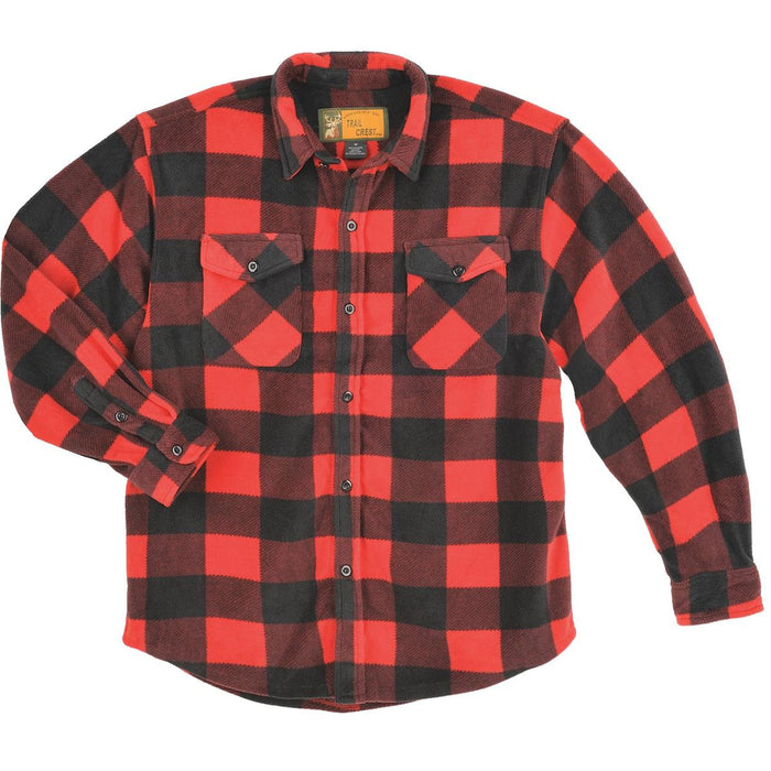 Trail Crest Heavyweight Poly Fleece Shirt Jackets