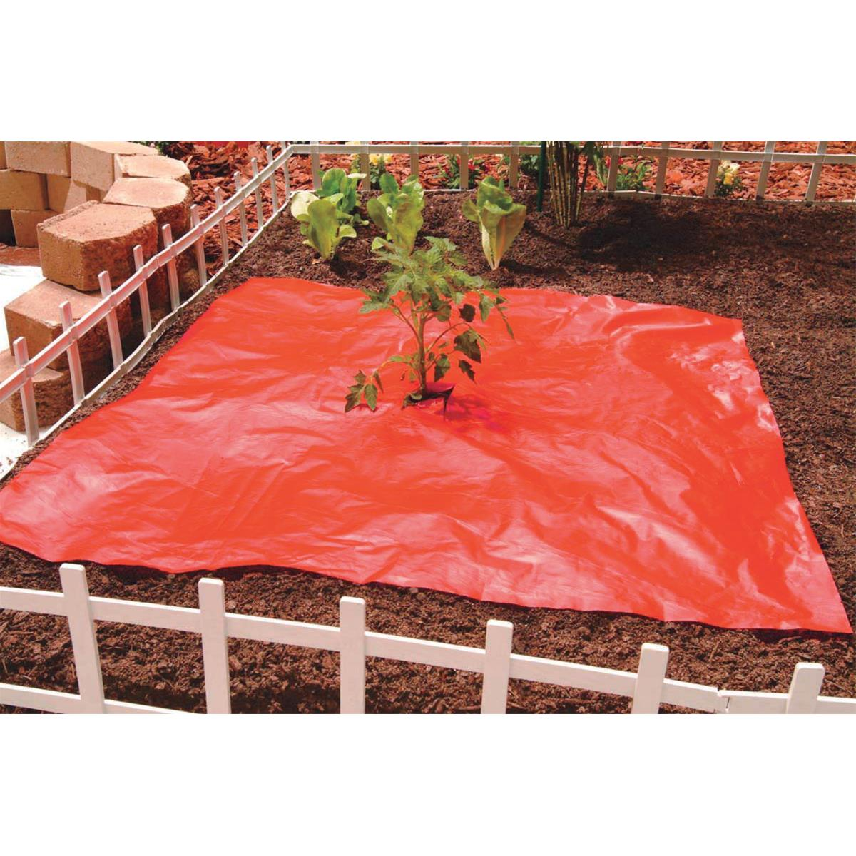 Perforated Red Mulch Film