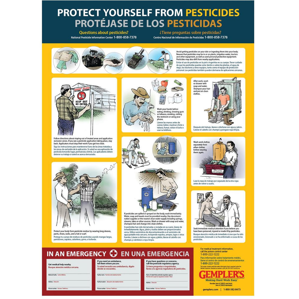 Pesticide Safety Poster