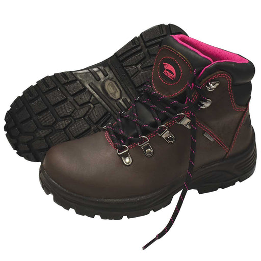 "Avenger Women's 6""H Steel Toe Hiker"