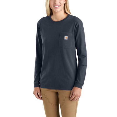 Carhartt Women's Long Sleeve Pocket T-Shirt, 103244