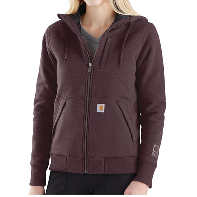 Carhartt 103242 Women's Rockland Quilt-Lined Hooded Sweatshirt