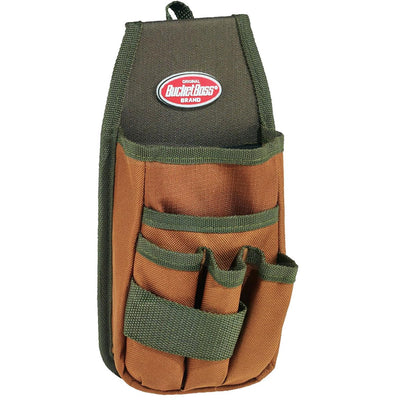Bucket Boss® Tool Holder - Utility Pouch with FlapFit™ Belt Clip