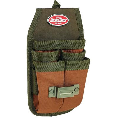 Bucket Boss® Tool Holder - Four Barrel Sheath with FlapFit Belt Clip