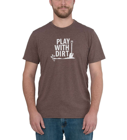 Locally Grown Play with Dirt Men's T-Shirt