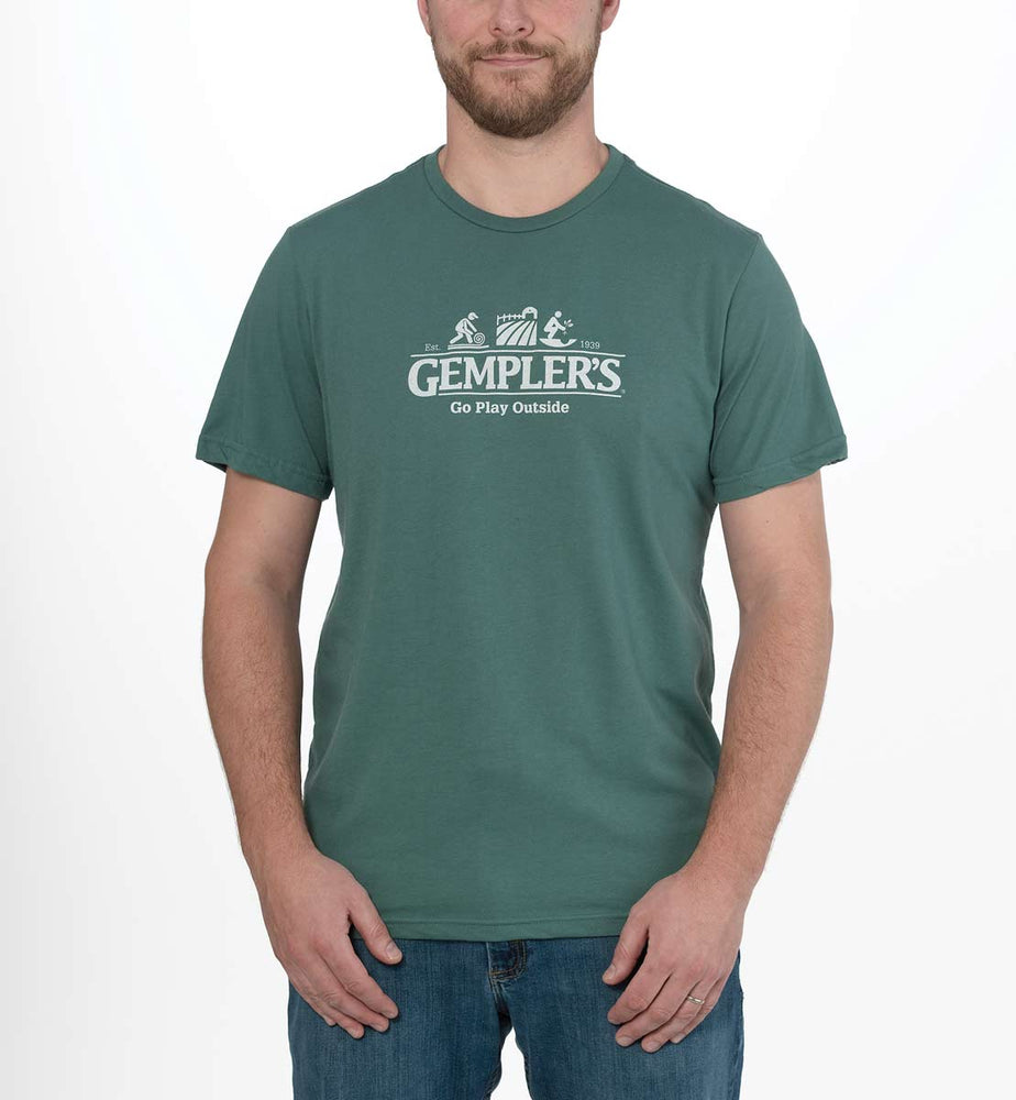 Locally Grown Gempler's Go Play Outside Men's T-Shirt
