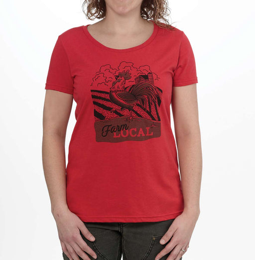 Locally Grown Farm Local Women's T-Shirt