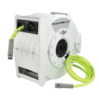 Flexzilla® Retractable Water Hose Reel Includes 70' Hose