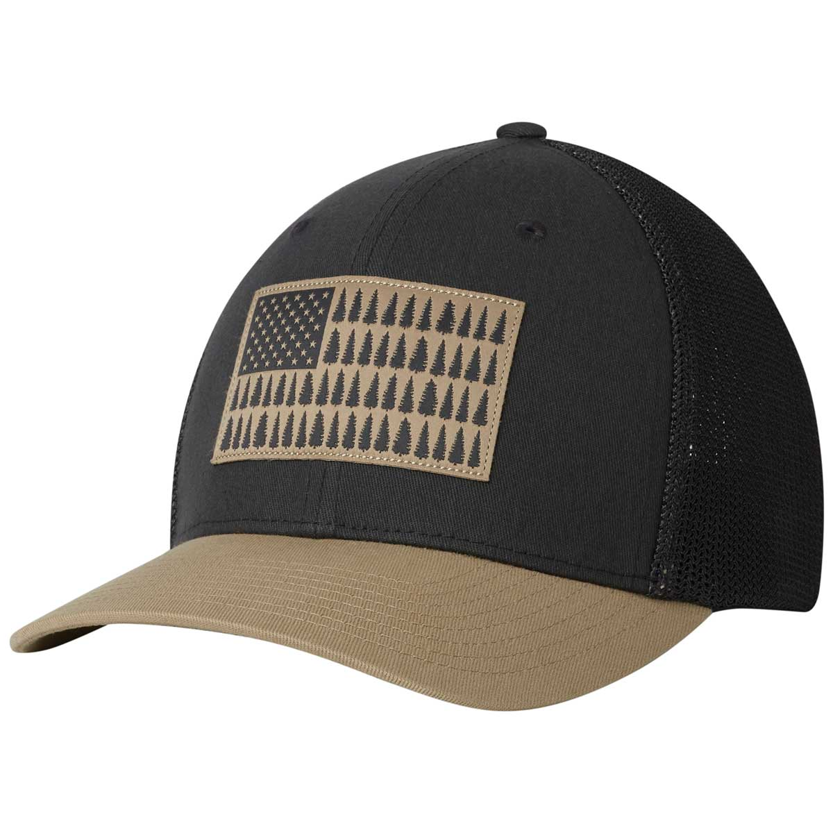 Columbia PFG Mesh Tree Flag Ball Cap