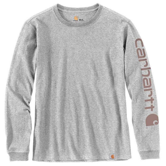 Carhartt Women's Workwear Sleeve Logo Long Sleeve T-Shirt