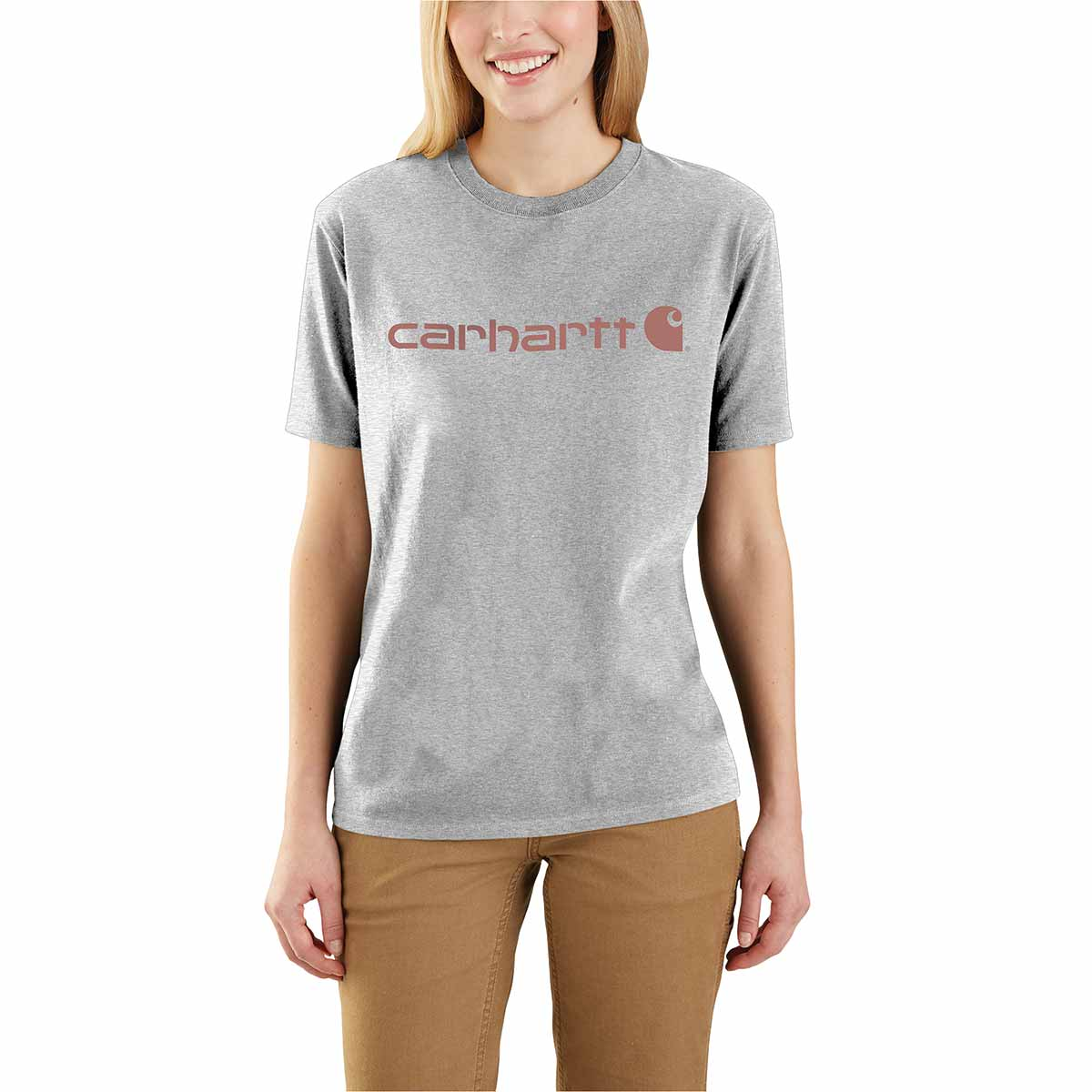 Carhartt Women's Workwear Logo Short Sleeve T-Shirt