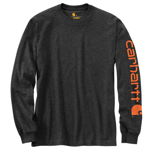 Carhartt Men's Signature Logo Long Sleeve T-Shirt