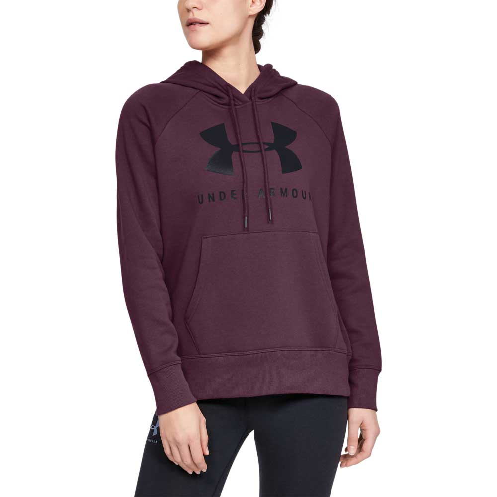 Under Armour Women's Rival Fleece Sportstyle Graphic Hoodie