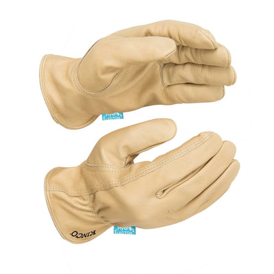 Kinco HydroFlector™ Water-Resistant Premium Grain Cowhide Driver Gloves