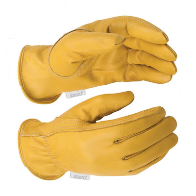 Kinco Women's Grain Cowhide Driver Gloves