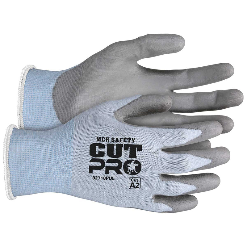 MCR Safety Cut Pro™ 18 Gauge Hypermax™ Shell Polyurethane Coated Glove