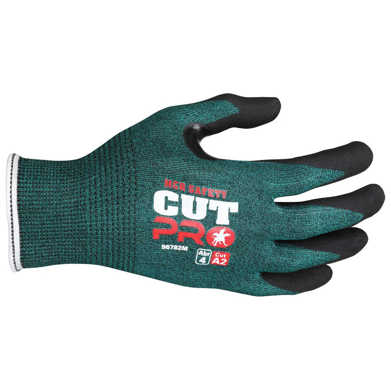MCR Safety Cut Pro 18 Gauge Hypermax Shell Nitrile Coated Gloves