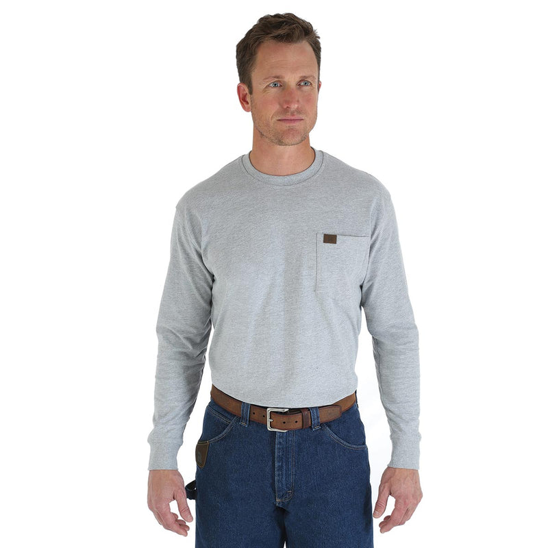 Wrangler Riggs Workwear Long Sleeve Pocket T-Shirt